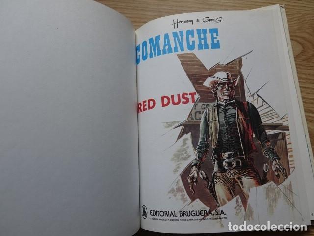 Tebeos: Comanche Red Dust JET Bruguera no. 4 Hermann Greg año 1983 1ª edición - Foto 6 - 172686178