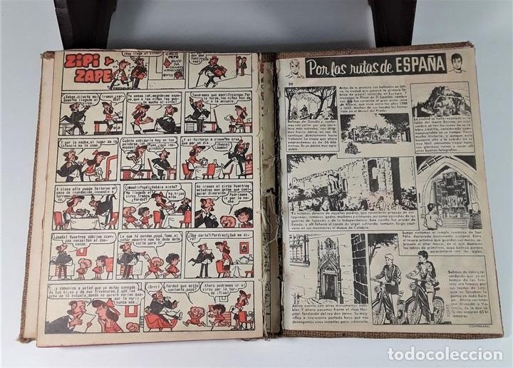 Tebeos: REVISTA PARA LOS JOVENES PULGARCITO.25 EJEMP. J. CASTELL. EDIT. BRUGUERA. 1958/1961. - Foto 16 - 172697280