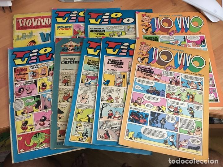 TIO VIVO LOTE 217 501 575 604 606 607 660 897 Y EXTRA VAGOS (BRUGUERA) (COIB14) (Tebeos y Comics - Bruguera - Tio Vivo)