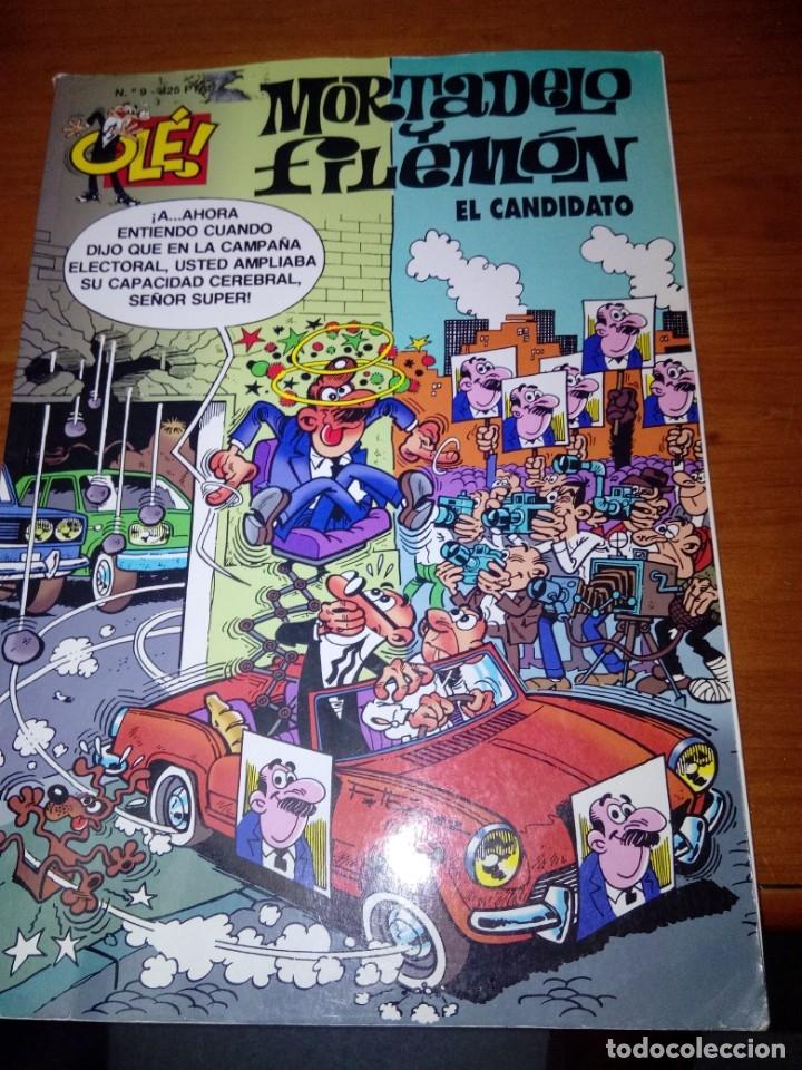 MORTADELO Y FILEMÓN EL CANDIDATO. EST16B5 (Tebeos y Comics - Bruguera - Mortadelo)