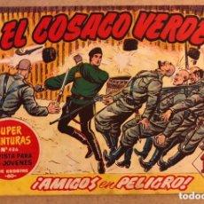 Tebeos: SUPER AVENTURAS N° 486 EL COSACO VERDE ¡AMIGOS EN PELIGRO ! (EDITORIAL BRUGUERA 1961).. Lote 172797407