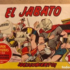 Tebeos: SUPER AVENTURAS N° 155 EL JABATO, ¡DESCUBIERTO! (EDITORIAL BRUGUERA 1959).. Lote 172797853