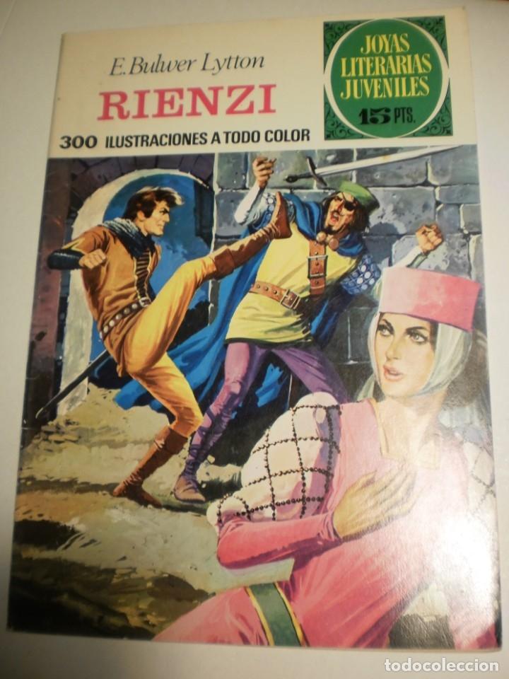 E. BULWER LYTTON. RIENZI. 1974 Nº 111 JOYAS LITERARIAS JUVENILES BRUGUERA (SEMINUEVO) (Tebeos y Comics - Bruguera - Joyas Literarias)