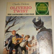 Tebeos: CHARLES DICKENS OLIVERIO TWIST 1973 Nº 70 JOYAS LITERARIAS JUVENILES (ESTADO NORMAL). Lote 172859243