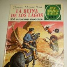 Tebeos: THOMAS MAYNE REID LA REINA DE LOS LAGOS 1972 Nº 61 JOYAS LITERARIAS JUVENILES BRUGUERA (BUEN ESTADO). Lote 172862792