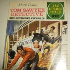 Livros de Banda Desenhada: MARK TWAIN. TOM SAWYER DETECTIVE. 1972 Nº 60 JOYAS LITERARIAS JUVENILES BRUGUERA (ESTADO NORMAL). Lote 172862994