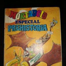 Tebeos: MORTADELO. ESPECIAL PREHISTORIA. Nº 47. EDITORIAL BRUGUERA.. Lote 172890855