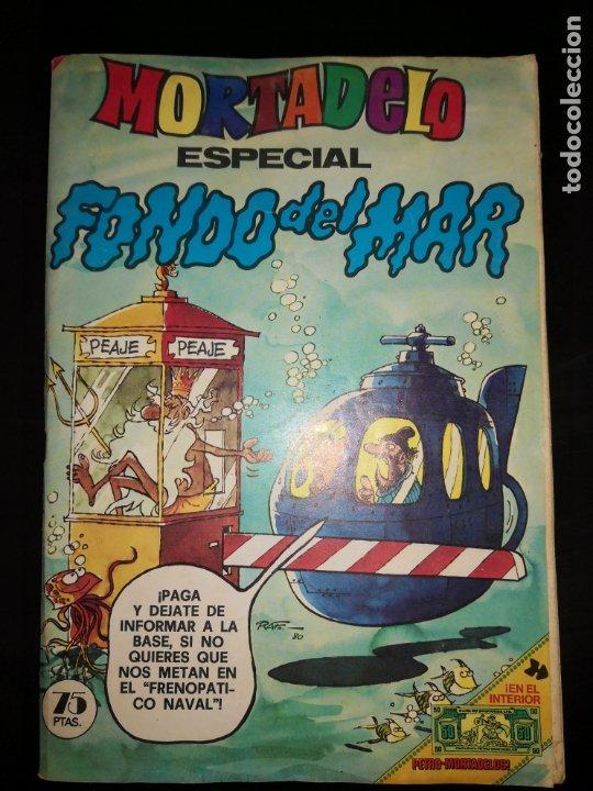 MORTADELO ESPECIAL FONDO DEL MAR. EDITORIAL BRUGUERA. (Tebeos y Comics - Bruguera - Mortadelo)