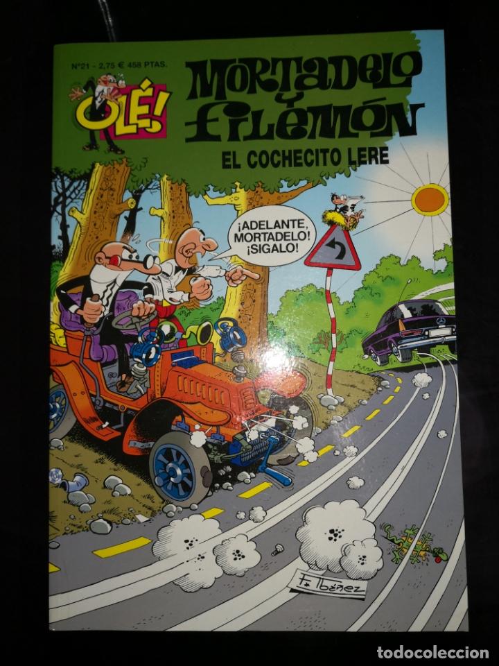 MORTADELO Y FILEMON EL COCHECITO LERE (Tebeos y Comics - Bruguera - Mortadelo)