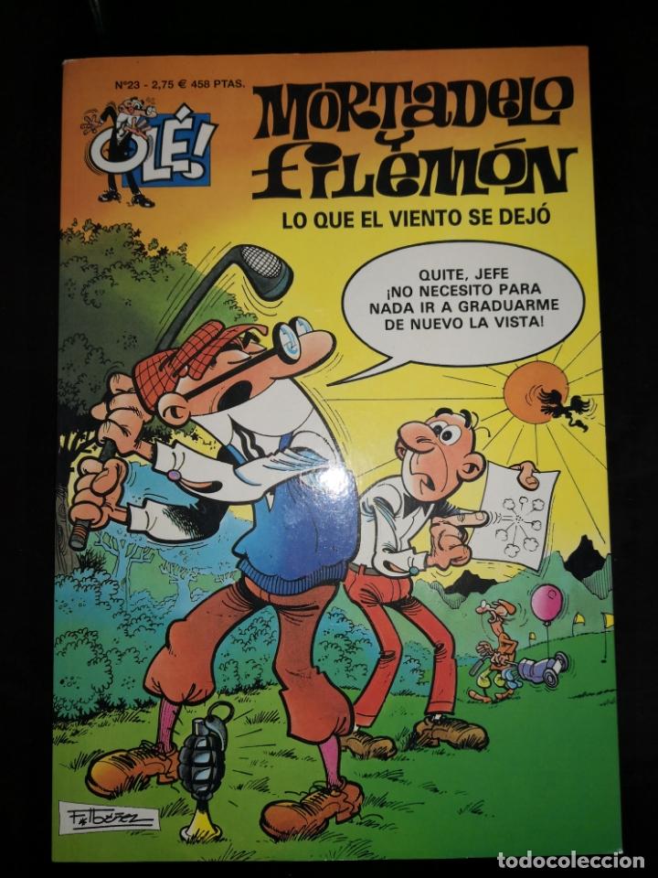 MORTADELO Y FILEMON LO QUE EL VIENTO SE DEJO (Tebeos y Comics - Bruguera - Mortadelo)