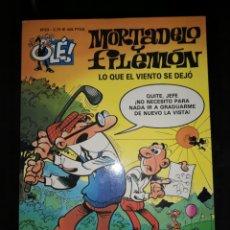 Tebeos: MORTADELO Y FILEMON LO QUE EL VIENTO SE DEJO. Lote 172891247
