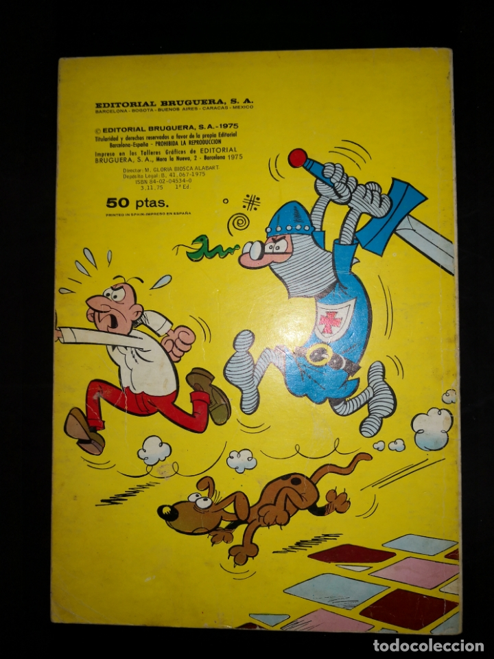 Tebeos: MORTADELO Y FILEMON Los bromazos del jefe 1 edicion numerado en el lomo - Foto 2 - 172891367
