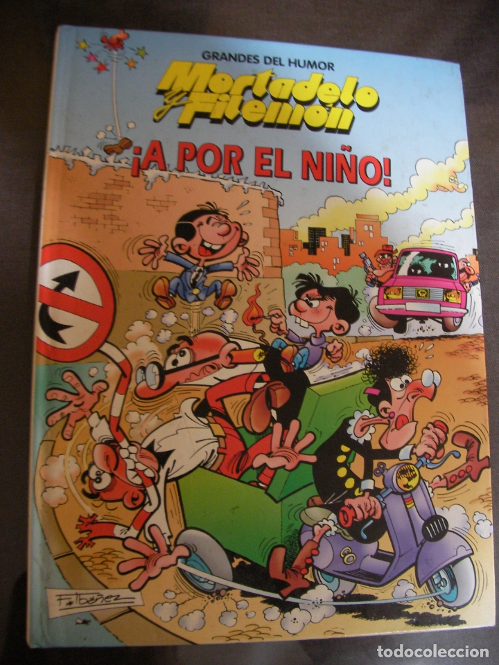Tebeos: MORTADELO Y FILEMON - A POR EL NIÑO - Foto 1 - 172952358