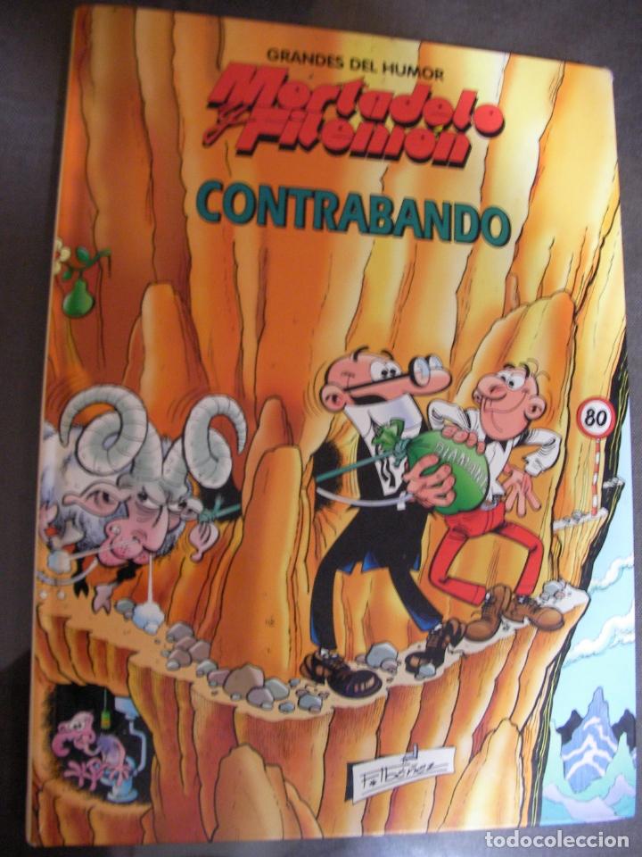 MORTADELO Y FILEMON - CONTRABANDO (Tebeos y Comics - Bruguera - Mortadelo)