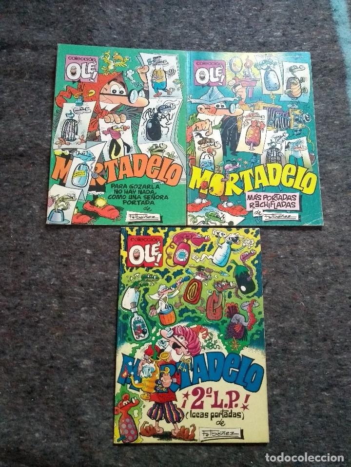 COLECCIÓN OLÉ NºS 363 383 Y 384 - ESPECIALES PORTADAS (Tebeos y Comics - Bruguera - Ole)