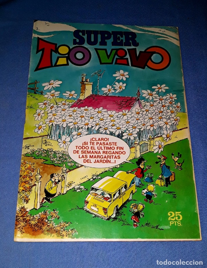 SUPER TIO VIVO Nº 42 DE BRUGUERA EN MUY BUEN ESTADO ORIGINAL VER FOTO Y DESCRIPCION (Tebeos y Comics - Bruguera - Tio Vivo)