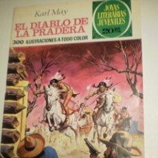 Tebeos: KARL MAY EL DIABLO DE LA PRADERA 1ª ED 1975 Nº 139 JOYAS LITERARIAS JUVENILES (ESTADO NORMAL). Lote 173020505
