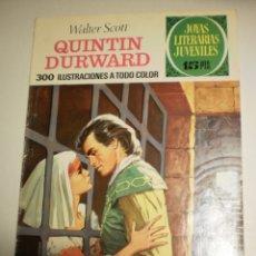 Livros de Banda Desenhada: WALTER SCOTT QUINTIN DURWARD 1973 Nº 67 JOYAS LITERARIAS JUVENILES (ESTADO NORMAL). Lote 173021852