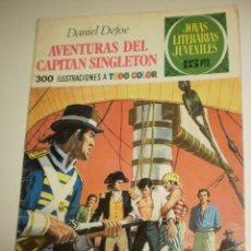 Livros de Banda Desenhada: DANIEL DEFOE AVENTURAS DEL CAPITÁN SINGLETON 1970 Nº 10 JOYAS LITERARIAS JUVENILES (ESTADO NORMAL). Lote 173022322