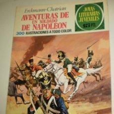 Tebeos: ERCKMANN CHATRIAN AVENTURAS DE UN SOLDADO DE NAPOLEÓN 1971 Nº 15 JOYAS LITERARIAS (ESTADO NORMAL). Lote 173023427