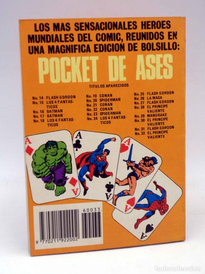 Tebeos: SERIE CLÁSICOS POCKET DE ASES 33. MANDRAKE EL MAGO (Lee Flak) Bruguera, 1983. OFRT - Foto 2 - 274525443