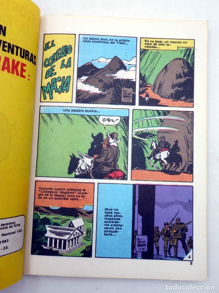 Tebeos: SERIE CLÁSICOS POCKET DE ASES 33. MANDRAKE EL MAGO (Lee Flak) Bruguera, 1983. OFRT - Foto 4 - 274525443