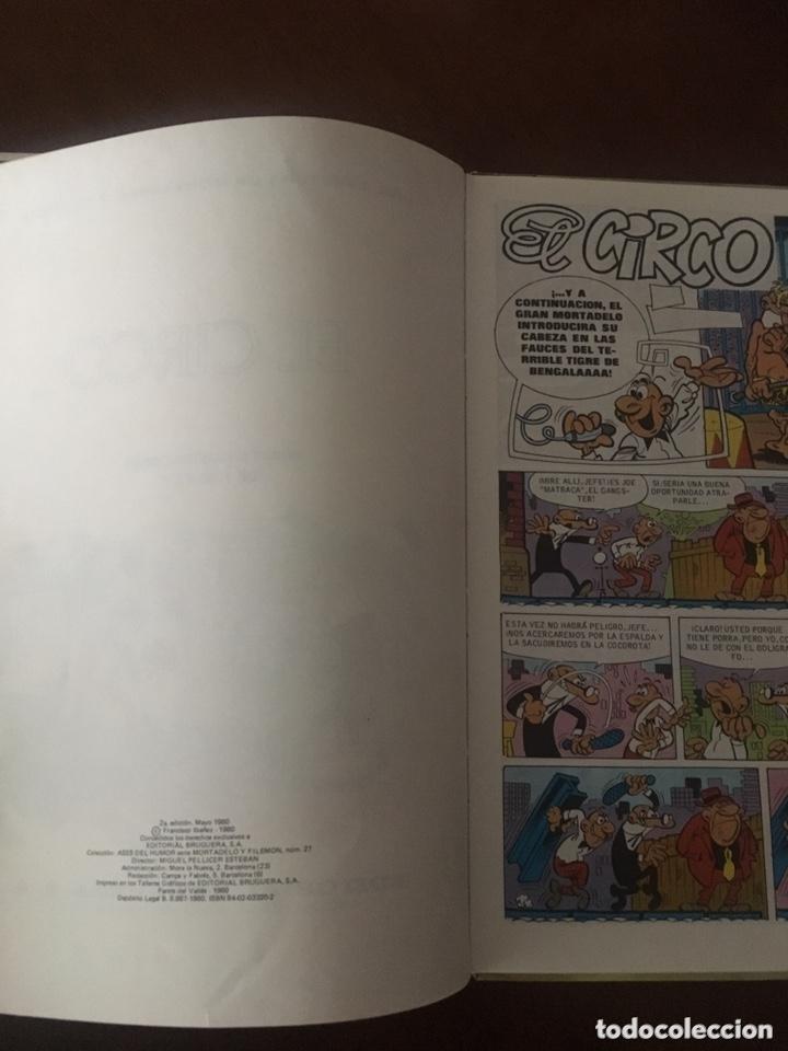 Tebeos: Mortadelo y Filemón -El circo-Colección Ases del Humor - Foto 4 - 173045245