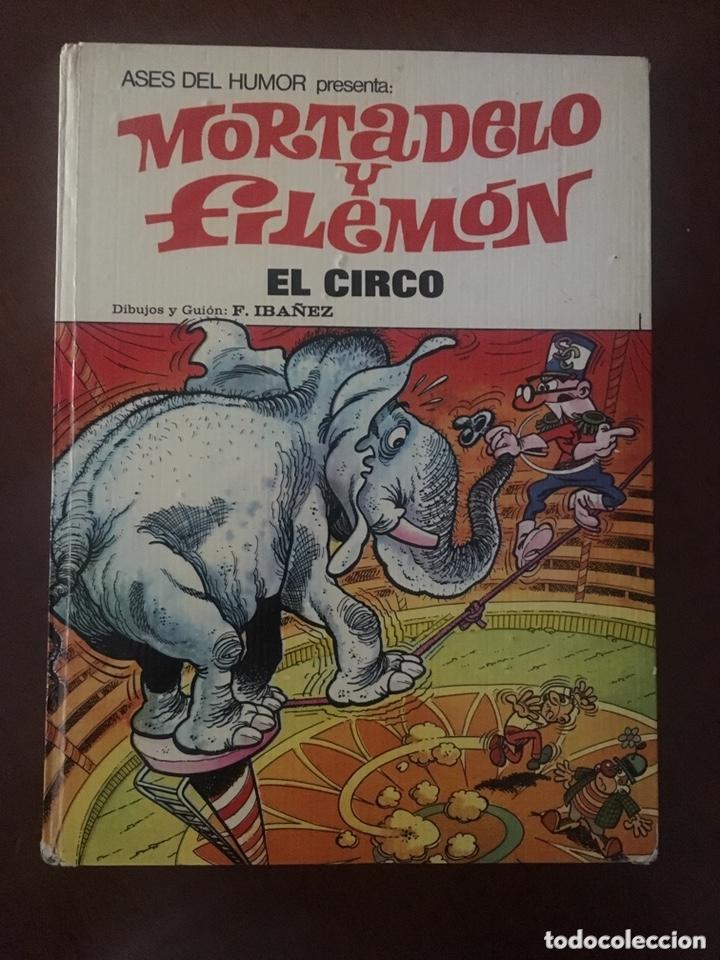 MORTADELO Y FILEMÓN -EL CIRCO-COLECCIÓN ASES DEL HUMOR (Tebeos y Comics - Bruguera - Mortadelo)