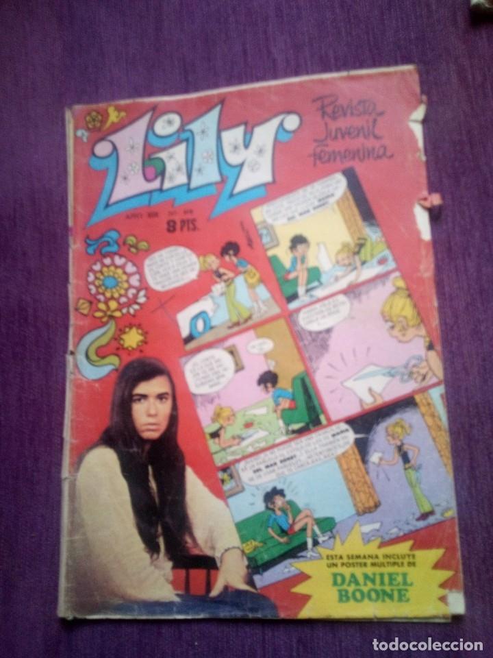 LILY 618 Z (Tebeos y Comics - Bruguera - Lily)