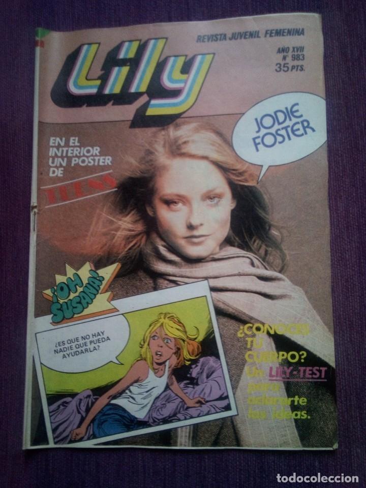 LILY 983 Z (Tebeos y Comics - Bruguera - Lily)