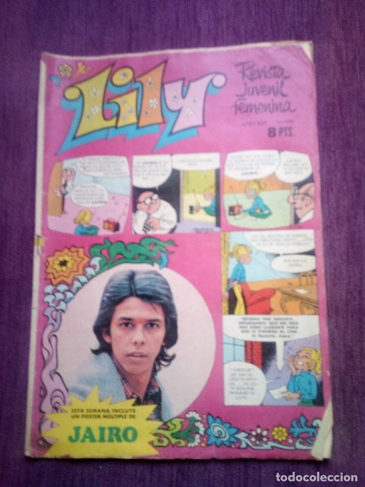 LILY 641 Z (Tebeos y Comics - Bruguera - Lily)