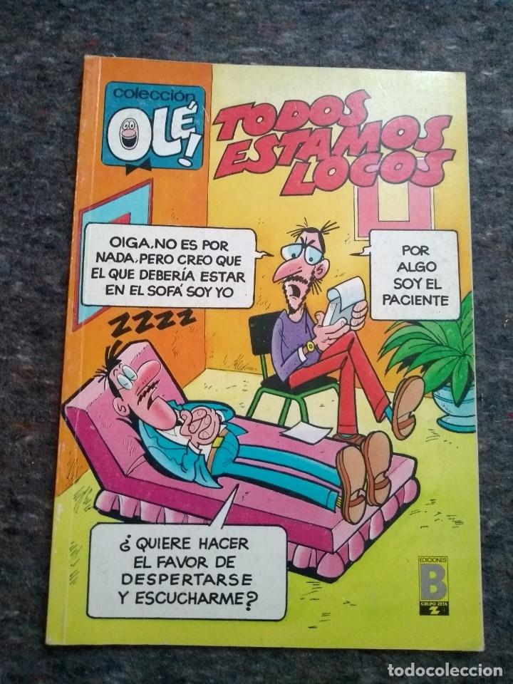 COLECCIÓN OLÉ Nº 359 V. 11 - TODOS ESTAMOS LOCOS - MUY BUEN ESTADO (Tebeos y Comics - Bruguera - Ole)