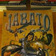 Tebeos: * EL JABATO * EDICION HISTORICA * LOTE 58 Nº IMPECABLES * EDICIONES B 1987 *. Lote 173096255