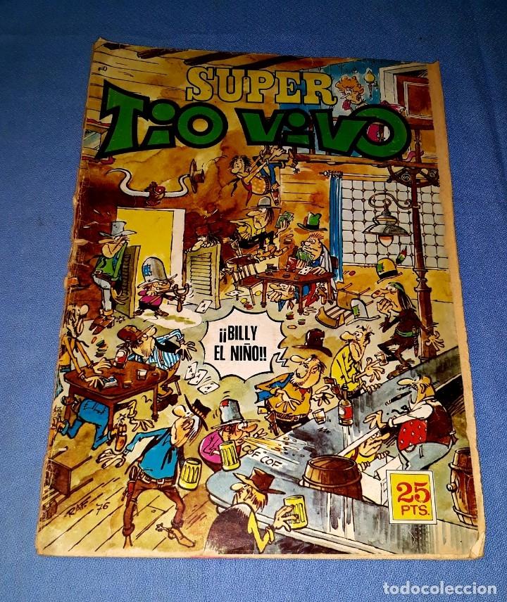 SUPER TIO VIVO Nº 45 DE BRUGUERA EN BUEN ESTADO ORIGINAL VER FOTO Y DESCRIPCION (Tebeos y Comics - Bruguera - Tio Vivo)