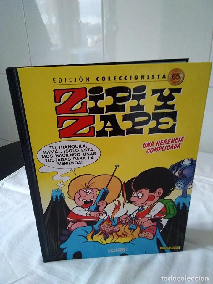 4-COMIC ZIPI Y ZAPE, UNA HERENCIA COMPLICADA, EDICION COLECCIONISTA (Tebeos y Comics - Bruguera - Ole)