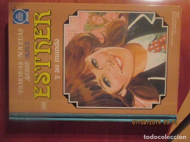 ESTHER Y SU MUNDO -FAMOSAS NOVELAS -SERIE AZUL -Nº 6 (Tebeos y Comics - Bruguera - Esther)