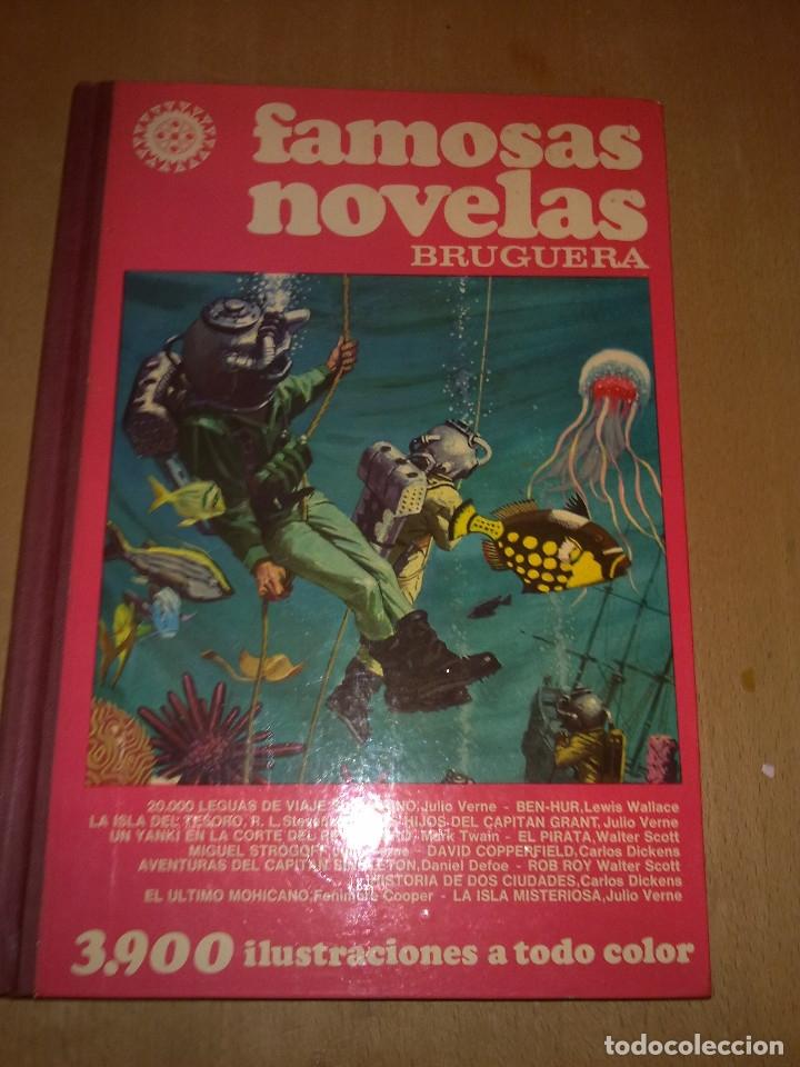 FAMOSAS NOVELAS DE BRUGERA TOMO I 4ª EDICION 1979 (Tebeos y Comics - Bruguera - Otros)