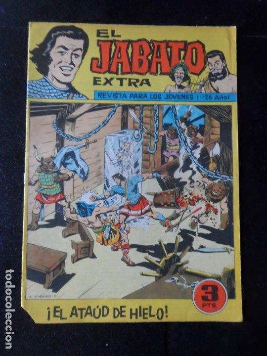EL JABATO EXTRA Nº 26 DITORIAL BRUGUERA ORIGINAL (Tebeos y Comics - Bruguera - Jabato)