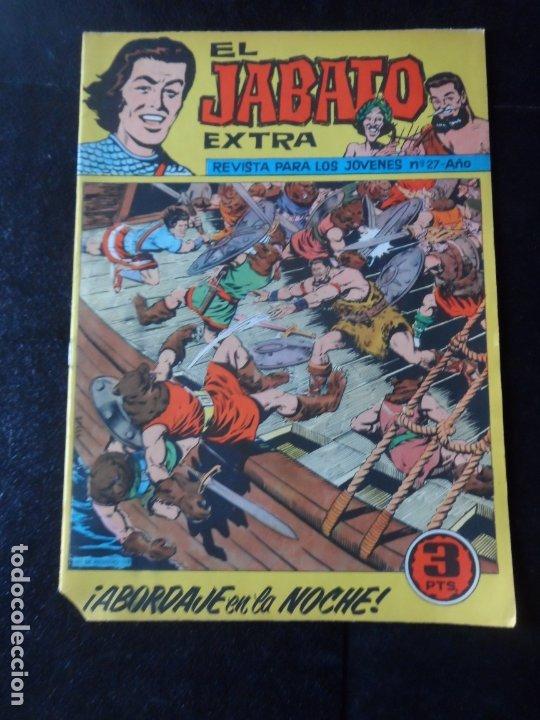 EL JABATO EXTRA Nº 27 DITORIAL BRUGUERA ORIGINAL (Tebeos y Comics - Bruguera - Jabato)