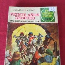 Tebeos: BRUGUERA JOYAS LITERARIAS JUVENILES NUMERO 97 NORMAL ESTADO. Lote 173379837