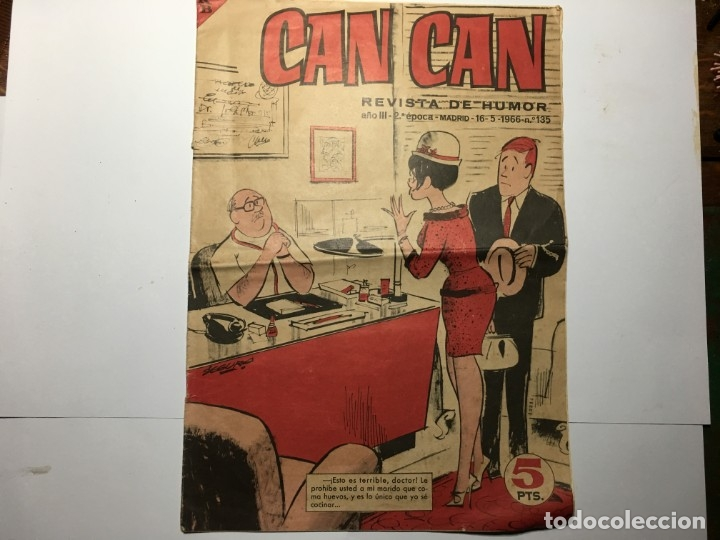 Tebeos: COMIC CAN CAN Nº 135 - Foto 1 - 173418307