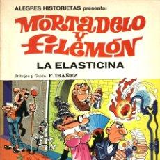 Tebeos: ALEGRES HISTORIETAS-1: MORTADELO Y FILEMÓN: LA ELASTICINA (BRUGUERA, 1980), DE IBAÑEZ. Lote 173423799