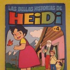 Tebeos: LAS BELLAS HISTORIAS DE HEIDI BRUGUERA N 4 EL SECRETO DE HEIDI. Lote 173427470
