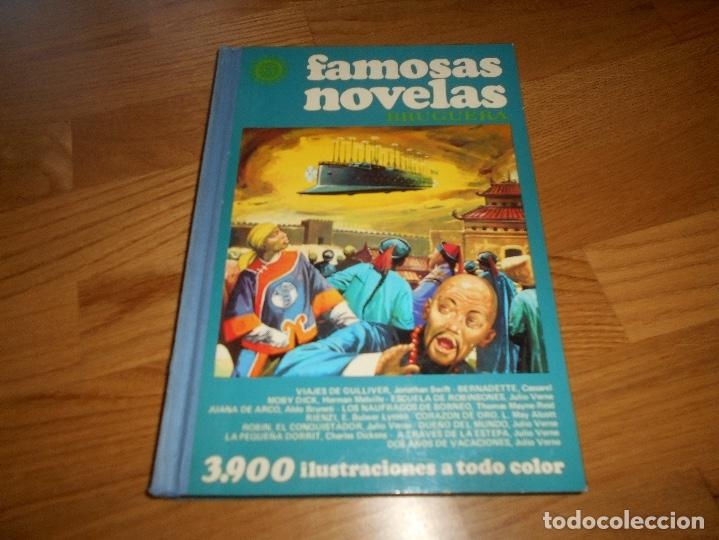 FAMOSAS NOVELAS Nº 9 IX (BRUGUERA) PRIMERA EDICIONMUY BUEN ESTADO (Tebeos y Comics - Bruguera - Otros)
