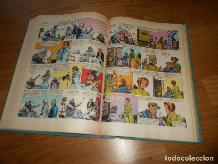 Tebeos: FAMOSAS NOVELAS Nº 9 IX (BRUGUERA) PRIMERA EDICIONMUY BUEN ESTADO - Foto 4 - 173442933