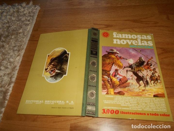 Tebeos: FAMOSAS NOVELAS VOLUMEN XVI - BRUGUERA. PRIMERA EDICIÓN 1979 - Foto 8 - 173444807