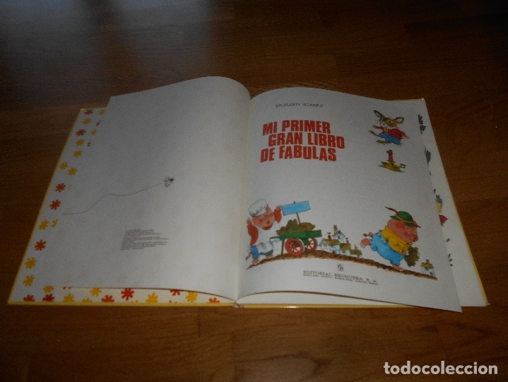 Tebeos: MI PRIMER GRAN LIBRO DE FABULAS, EDITORIAL BRUGUERA, RICHARD SCARRY, 1979 - Foto 2 - 173464072