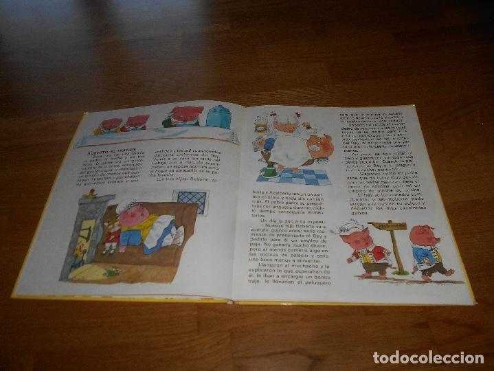 Tebeos: MI PRIMER GRAN LIBRO DE FABULAS, EDITORIAL BRUGUERA, RICHARD SCARRY, 1979 - Foto 3 - 173464072
