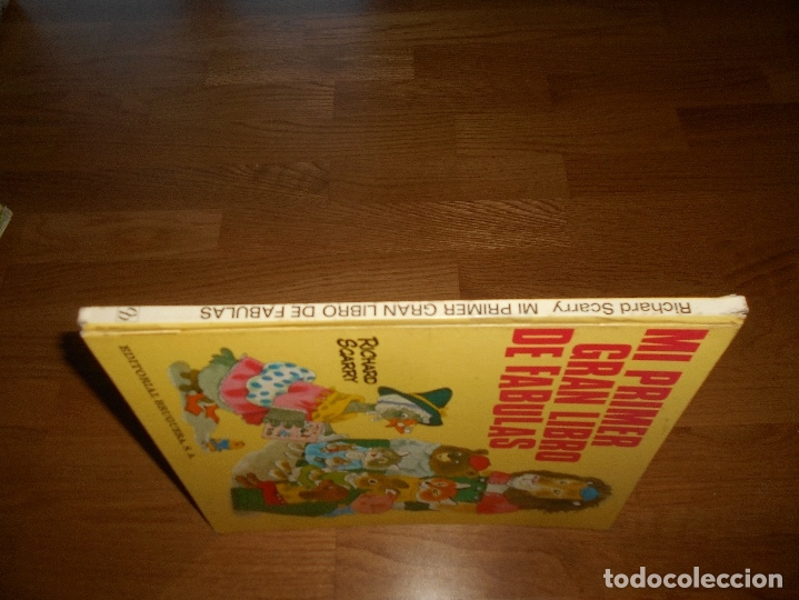 Tebeos: MI PRIMER GRAN LIBRO DE FABULAS, EDITORIAL BRUGUERA, RICHARD SCARRY, 1979 - Foto 7 - 173464072