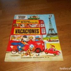 Tebeos: MI PRIMER GRAN LIBRO DE VACACIONES - RICHARD SCARRY - EDITORIAL BRUGUERA, SA., 2º ED. 1978. Lote 173464673